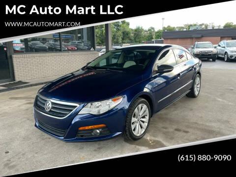 2011 Volkswagen CC for sale at MC Auto Mart LLC in Hermitage TN