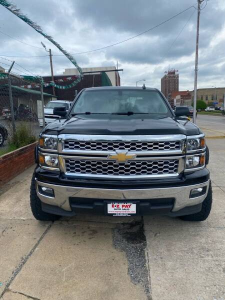 2015 Chevrolet Silverado 1500 for sale at E-Z Pay Used Cars in McAlester OK