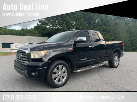 2007 Toyota Tundra for sale at Auto Deal Line in Alpharetta GA