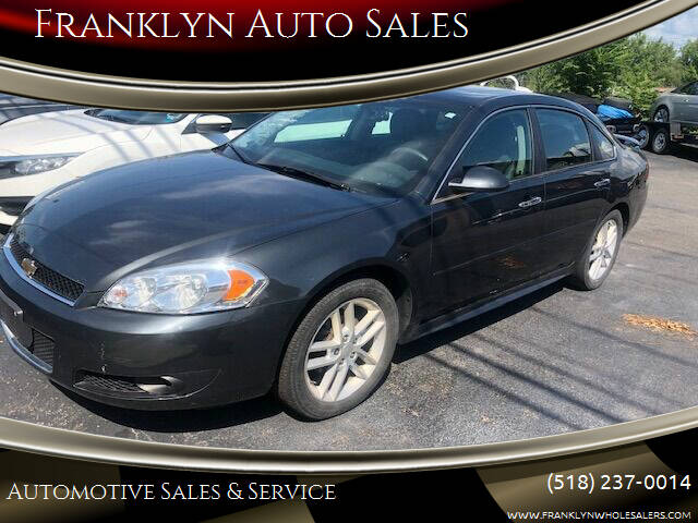 2015 Chevrolet Impala Limited for sale at Franklyn Auto Sales in Cohoes NY