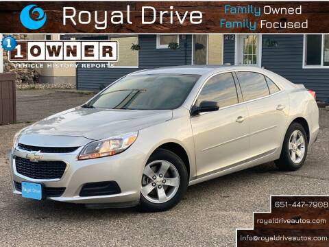 2015 Chevrolet Malibu for sale at Royal Drive in Newport MN