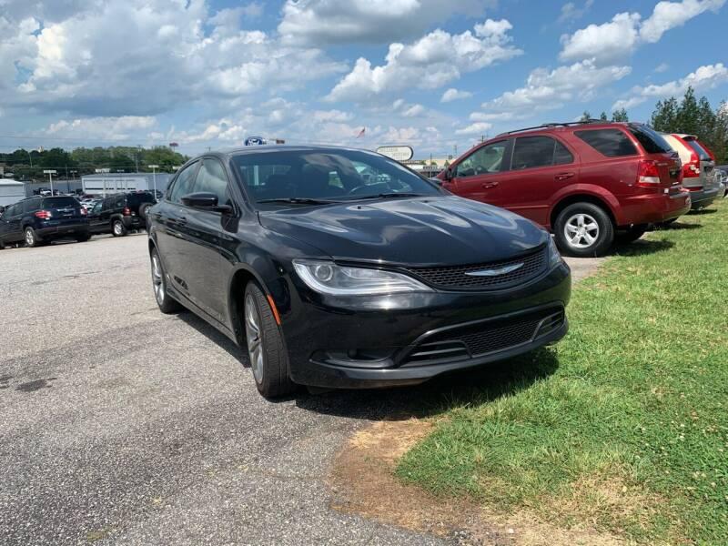 2015 Chrysler 200 for sale at Hillside Motors Inc. in Hickory NC