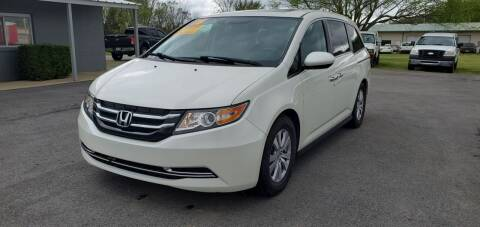 2015 Honda Odyssey for sale at Jacks Auto Sales in Mountain Home AR