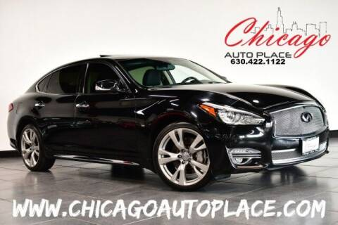 2015 Infiniti Q70L for sale at Chicago Auto Place in Bensenville IL