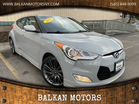 2013 Hyundai Veloster for sale at BALKAN MOTORS in East Rochester NY