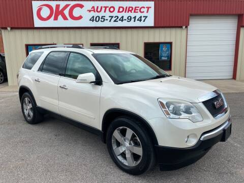 2012 GMC Acadia for sale at OKC Auto Direct in Oklahoma City OK