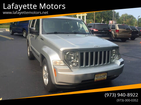 2009 Jeep Liberty for sale at Lafayette Motors 2 in Andover NJ