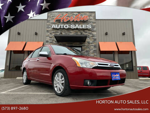 2011 Ford Focus for sale at HORTON AUTO SALES, LLC in Linn MO