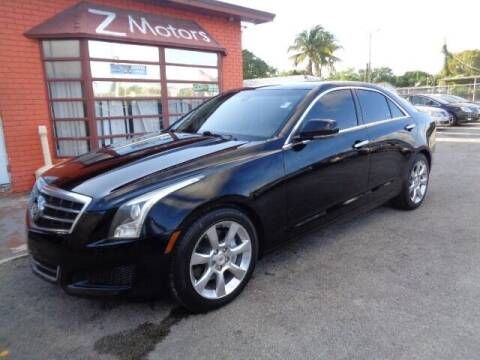 2014 Cadillac ATS for sale at Z Motors in North Lauderdale FL