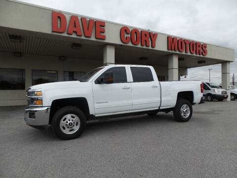 2015 Chevrolet Silverado 2500HD for sale at DAVE CORY MOTORS in Houston TX