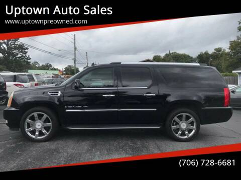 2007 Cadillac Escalade ESV for sale at Uptown Auto Sales in Rome GA
