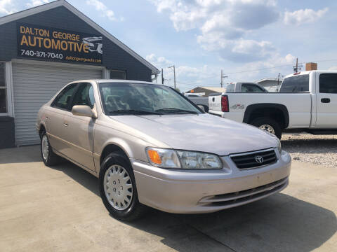 2001 Toyota Camry for sale at Dalton George Automotive in Marietta OH