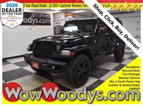 2019 Jeep Wrangler Unlimited for sale at WOODY'S AUTOMOTIVE GROUP in Chillicothe MO