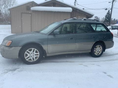 2001 Subaru Outback for sale at Harpers Auto Sales in Kettle Falls WA
