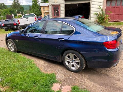 2012 BMW 5 Series for sale at Richard C Peck Auto Sales in Wellsville NY