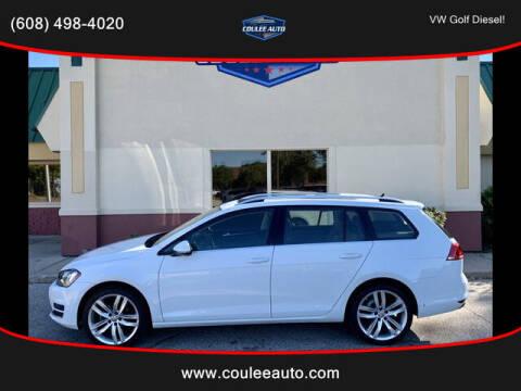 2015 Volkswagen Golf SportWagen for sale at Coulee Auto in La Crosse WI