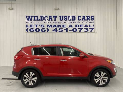 2012 Kia Sportage for sale at Wildcat Used Cars in Somerset KY