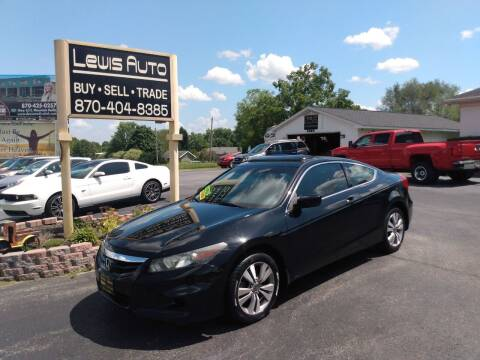 2011 Honda Accord for sale at LEWIS AUTO in Mountain Home AR