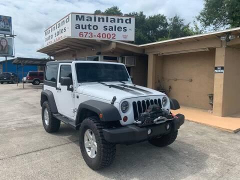2011 Jeep Wrangler for sale at Mainland Auto Sales Inc in Daytona Beach FL