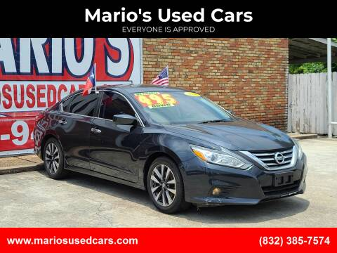 2016 Nissan Altima for sale at Mario's Used Cars - South Houston Location in South Houston TX