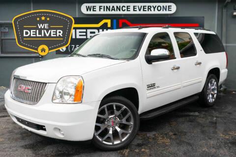 2011 GMC Yukon XL for sale at Meru Motors in Hollywood FL
