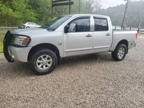 2004 Nissan Titan for sale at ROUTE 68 PRE-OWNED AUTOS & RV'S LLC in Parkersburg WV