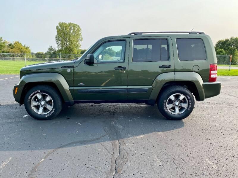 2008 Jeep Liberty for sale at Caruzin Motors in Flint MI