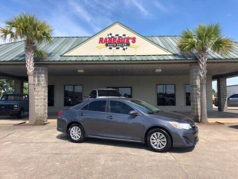 2014 Toyota Camry for sale at Rabeaux's Auto Sales in Lafayette LA