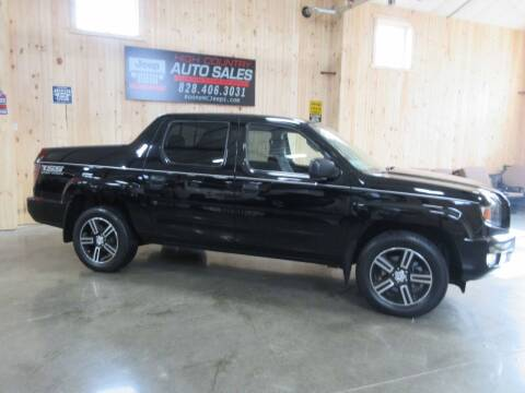 2013 Honda Ridgeline for sale at Boone NC Jeeps-High Country Auto Sales in Boone NC