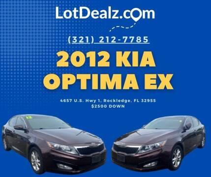 2012 Kia Optima for sale at ROCKLEDGE in Rockledge FL