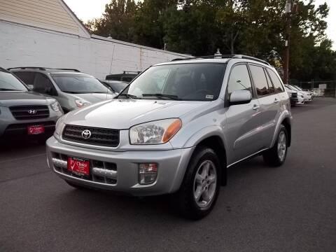 2002 Toyota RAV4 for sale at 1st Choice Auto Sales in Fairfax VA