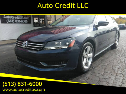 2012 Volkswagen Passat for sale at Auto Credit LLC in Milford OH