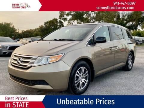 2011 Honda Odyssey for sale at Sunny Florida Cars in Bradenton FL