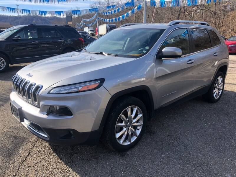 2015 Jeep Cherokee for sale at Matt Jones Preowned Auto in Wheeling WV