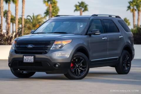 2014 Ford Explorer for sale at Euro Auto Sales in Santa Clara CA