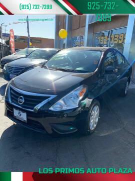 2016 Nissan Versa for sale at Los Primos Auto Plaza in Antioch CA