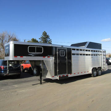 2021 TRAVALUM 24FT STOCK COMBO TRAILER for sale at PRIME RATE MOTORS in Sheridan WY