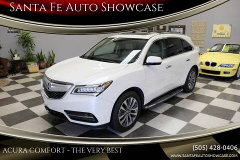 2016 Acura MDX for sale at Santa Fe Auto Showcase in Santa Fe NM