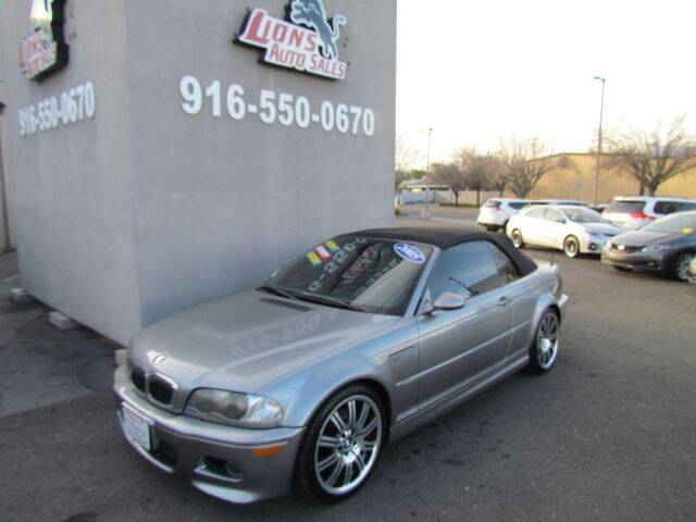 2005 BMW M3 for sale at LIONS AUTO SALES in Sacramento CA