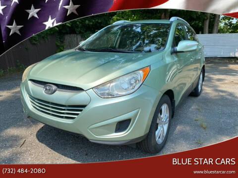 2012 Hyundai Tucson for sale at Blue Star Cars in Jamesburg NJ