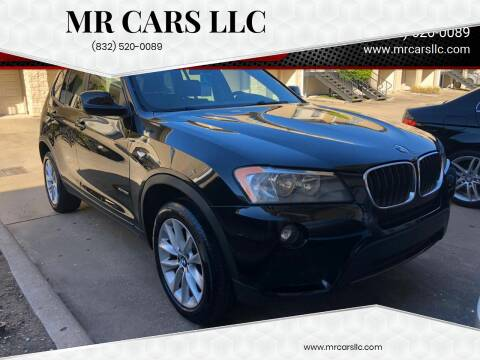 2013 BMW X3 for sale at Mr Cars LLC in Houston TX