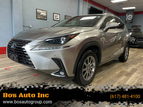 2019 Lexus NX 300 for sale at Bos Auto Inc in Quincy MA