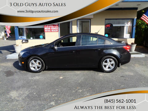 2013 Chevrolet Cruze for sale at 3 Old Guys Auto Sales in Newburgh NY