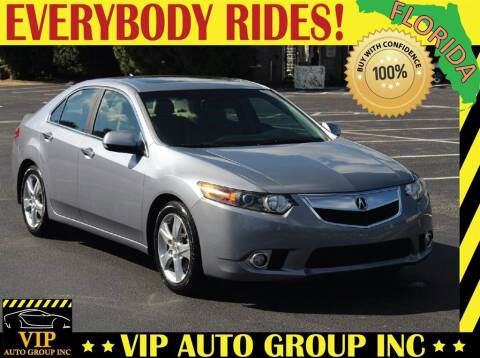 2013 Acura TSX for sale at VIP Auto Group in Clearwater FL