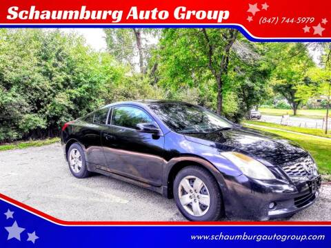 2008 Nissan Altima for sale at Schaumburg Auto Group in Schaumburg IL