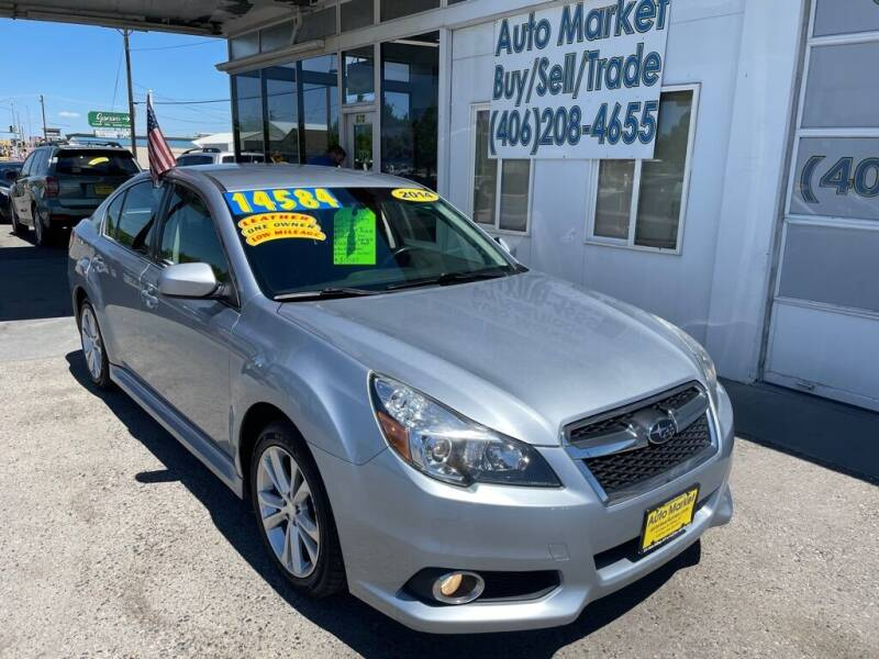 2014 Subaru Legacy for sale at Auto Market in Billings MT