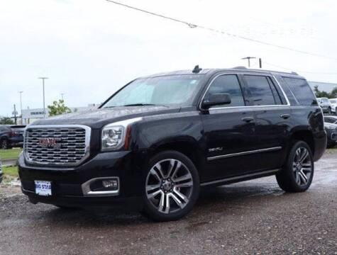 2018 GMC Yukon for sale at BIG STAR HYUNDAI in Houston TX