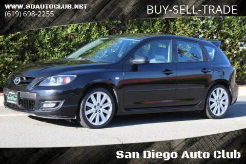 2008 Mazda MAZDASPEED3 for sale at San Diego Auto Club in Spring Valley CA