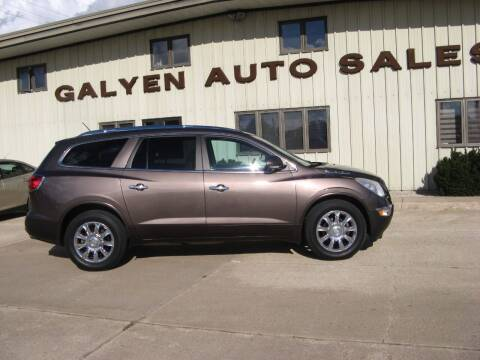2012 Buick Enclave for sale at Galyen Auto Sales in Atkinson NE