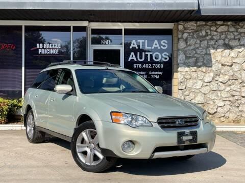 2006 Subaru Outback for sale at ATLAS AUTOS in Marietta GA